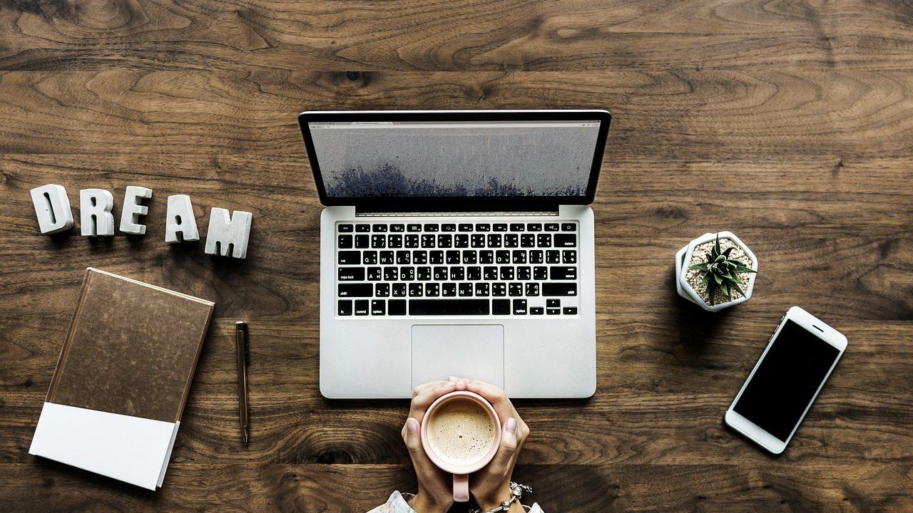 パソコンでブログを始める画像