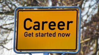 キャリアスタートの標識画像